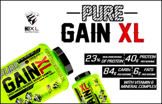 3 XL Nutrition Pure Gain XL kaufen