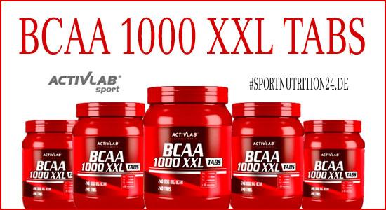 Activlab bcaa 1000 xxl tabs kaufen