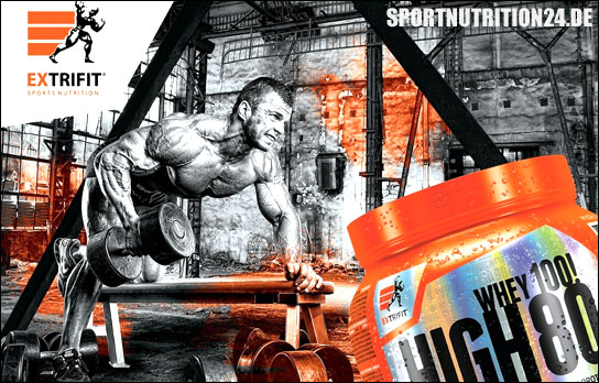 Extrifit Whey high80 banner
