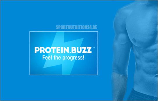 protein buzz banner