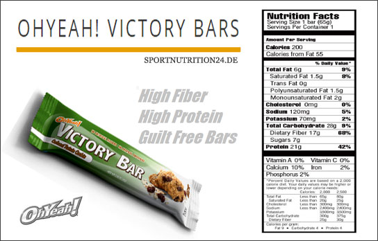 victory bars facts