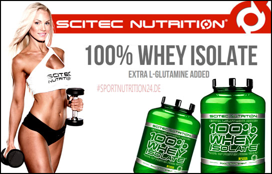 Scitec Nutrition 100% Whey Isolate kaufen