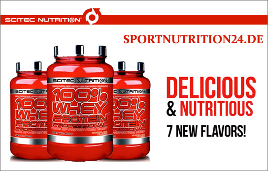 whey proffesional scitec nutrition banner