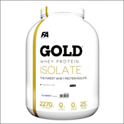FA Nutrition Gold Whey Protein Isolate 2270g
