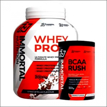 Immortal Nutrition Ultimate Whey Protein Formula 2000g + GRATIS Immortal BCAA Rush 300g