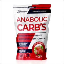 Immortal Nutrition Anabolic Carbs 1000g