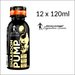 Kevin Levrone Shaaboom Pump Shot 12 x 120ml