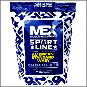 Mex Muscle Excellence Sport Line American Standard Whey 2270g