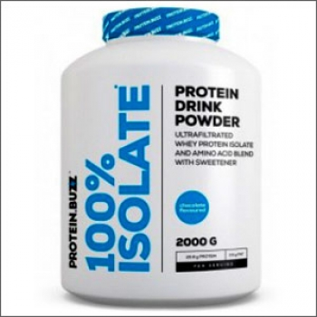 ProteinBuzz 100% Isolate 2000g