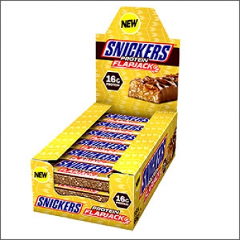 Snickers Protein Flapjack 18x65g (MHD 08.03.2019)