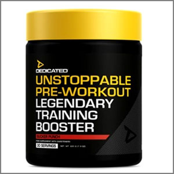Dedicated Nutrition Unstoppable Pre-Workout 225g