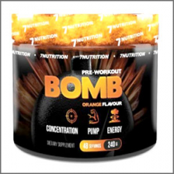 7Nutrition Bomb Pre-Workout 240g