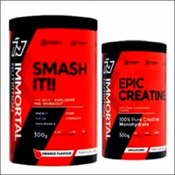 Immortal Nutrition Smash it 300g + Immortal Nutrition Epic Creatine 500g