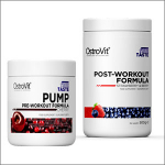 OstroVit PUMP Pre-Workout Formula 300g + OstroVit Post-Workout Formula 500g