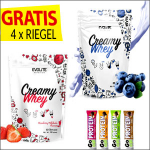 Evolite Nutrition Creamy Whey 2 x 700g  + Gratis Go On Nutrition Protein Riegel  ( 4 x 50g )