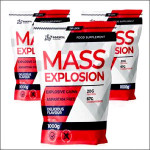 Immortal Nutrition Mass Explosion 3 x 1000g